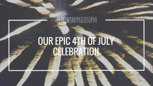 Our Epic 4th of July Celebration ★ Hog roast, fireworks, slip-n-slide, live music and a whole lot of food. ★ FireworksandLeftovers.com
