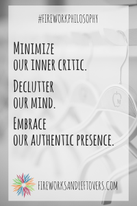 Embracing A Minimalist Home & A Minimalist Mind ★ FireworksandLeftovers.com