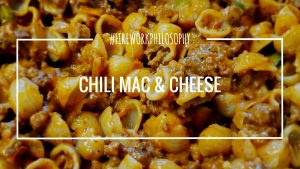 Chili Mac and Cheese ★ This homemade, not-from-a-box dish is the perfect weeknight dinner. ★ FireworksandLeftovers.com