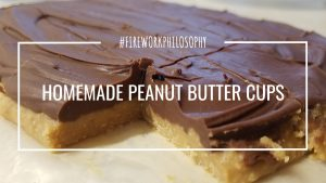 Homemade Peanut Butter Cups ★ Sweet Treats | Peanut Butter Recipes | Peanut Butter Cups | Homemade Candy | Homemade Candy Bars | Easy Candy | Easy Easy Candy Recipes | Homemade Snacks | Copycat Recipes | Candy Recipes | Christmas Candy Recipes | Homemade Halloween Candy | Homemade Halloween Candy Ideas | Homemade Halloween Candy Recipes ★ FireworksandLeftovers.com