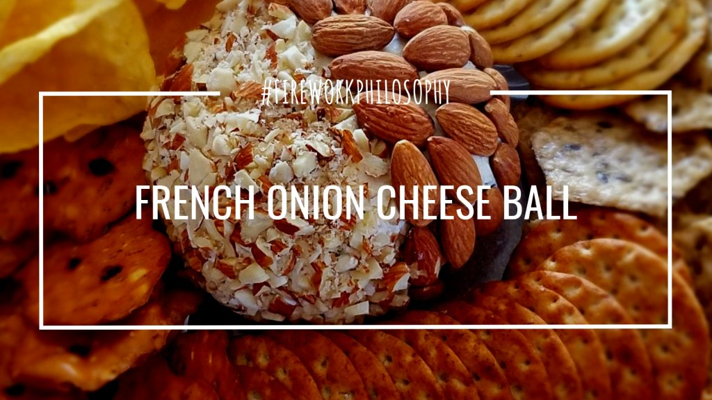 This French Onion Cheese Ball recipe is the perfect easy appetizer for a holiday party that will please any hungry crowd.