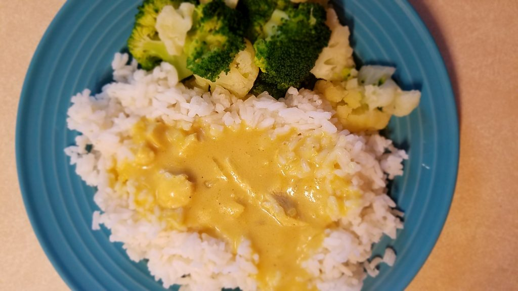 Curried Chicken & Rice is a great way to use up leftover chicken.