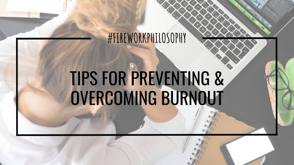 Tips for working moms for preventing and overcoming burnout during a crazy work week to help keep things on track at work and at home.